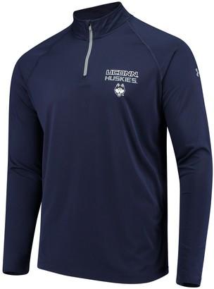 Under Armour Unbranded Men's Navy UConn Huskies 1/4 Zip Performance Top