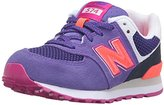 New Balance KL574 Summer Utility Pre Running Shoe (Little Kid)