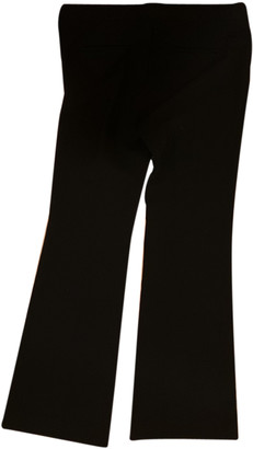 Theory Black Cloth Trousers