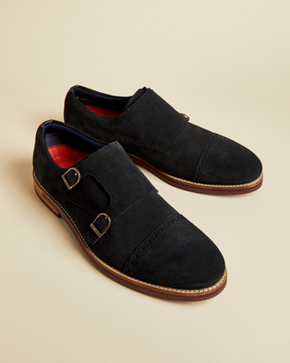 Ted Baker CLIPPT Suede monk shoes