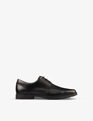 Clarks Scala Step Youth leather derby shoes 9-12 years