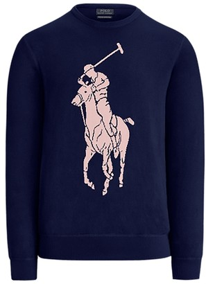 Ralph Lauren Custom Wool Crewneck Jumper