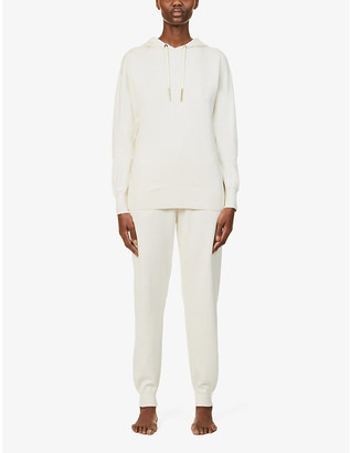 Olivia von Halle Gia stretch-silk and cashmere-blend tracksuit