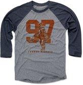 500 Level Connor McDavid Grunge O Edmonton Men's Baseball T-Shirt XXXL