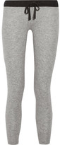 James Perse Genie Cashmere Track Pants - Light gray