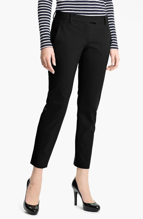 Theory 'Sienna' Crop Pants