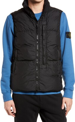 Stone Island Hooded Down Vest