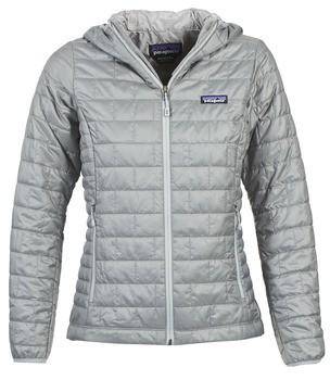 Patagonia W'S NANO PUFF HOODY women's Jacket in Grey