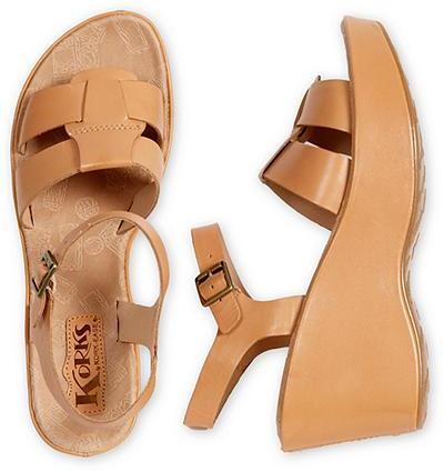 Eddie Bauer Korks by Kork-Ease® Carran Wedge Sandals