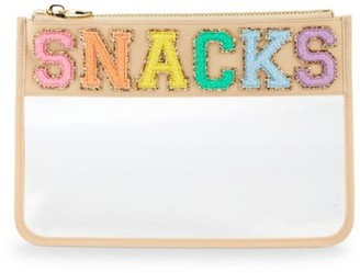 Stoney Clover Lane Snacks Flat Clear Pouch