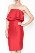 Do & Be Do-Be Ruffle Strapless Dress