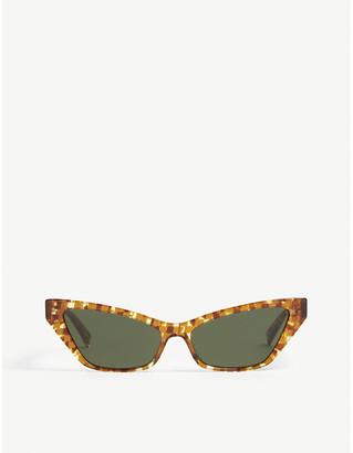 Alain Mikli Le Matin Havana acetate cat eye-frame sunglasses