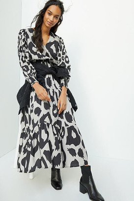 Sarita Spotted Maxi Dress By Conditions Apply in Assorted Size 0