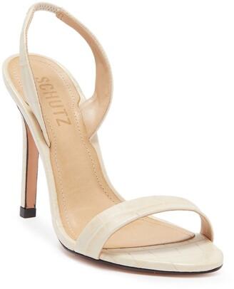 Schutz Luriane Slim Heel Sandal