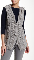 Chaudry Sleeveless Hooded Vest