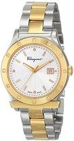 Salvatore Ferragamo Women's FF3080014 1898 Diamond-Accented Two-Tone Stainless Steel Watch