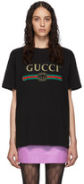 Gucci Black Vintage Logo T-Shirt