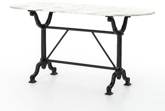 "Pottery Barn Laurel 59"" Marble Desk"
