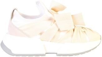 MM6 MAISON MARGIELA Ribbon Lace-Up Sneakers