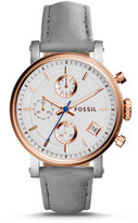 Fossil Original Boyfriend Sport Chronograph Graystone Leather Watch