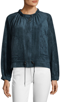 BCBGMAXAZRIA Elasticized Drawstring Jacket