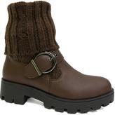 Bamboo Brown Tread Boot
