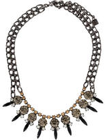 Dannijo Spiked Crystal Collar Necklace
