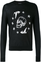 Just Cavalli skull print sweatshirt - men - Wool - S