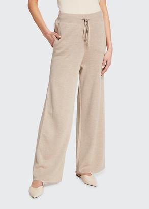 Max Mara Kenya Wool Knit Pants
