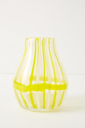 Anthropologie Venezia Vase By in Gold Size S