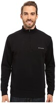 Columbia Hart Mountain II Half Zip (Black) Men's Jacket