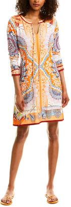 Hale Bob Long Sleeve Mini Dress