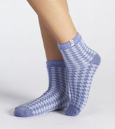 UGG Women's Houndstooth Fleece Lined Sock