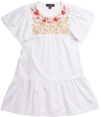 Imoga Savanna Embellished Trim Dress