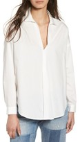 Lush Women's Cotton Menswear Shirt