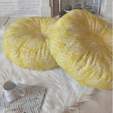 """Lotus Floor Pillow East Urban Home Size: 23"""" H x 23"""" W x 6"""" D"""