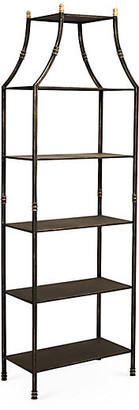 One Kings Lane Silas Etagere - Burnished Gold