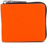 Kenzo contrast zip wallet - women - Calf Leather - One Size