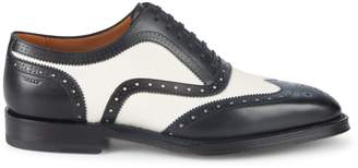 Bally Schubert Wingtip Leather Oxfords