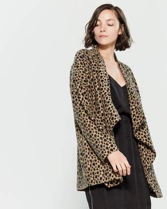 Religion Source Leopard Cardigan