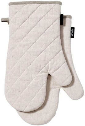 Ladelle Eco Recycled 2pk Oven Mitt