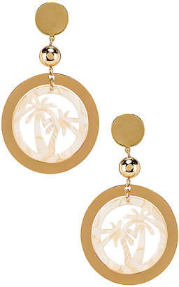 Ettika Palm Tree Earring