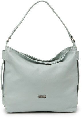Aimee Kestenberg Game On Leather Hobo Bag