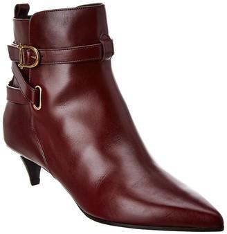 Celine Sharp Leather Bootie