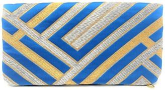 Friends That Rhyme Blue-Tiful Handmade Foldover Clutch Purse