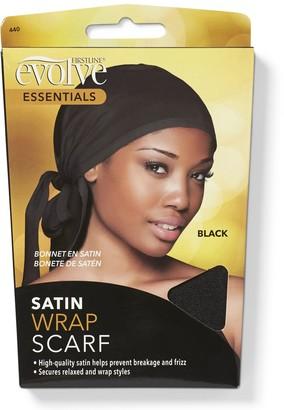 evolve Nighttime Go Satin Wrap Cap Black