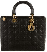 Christian Dior Large Lady Bag