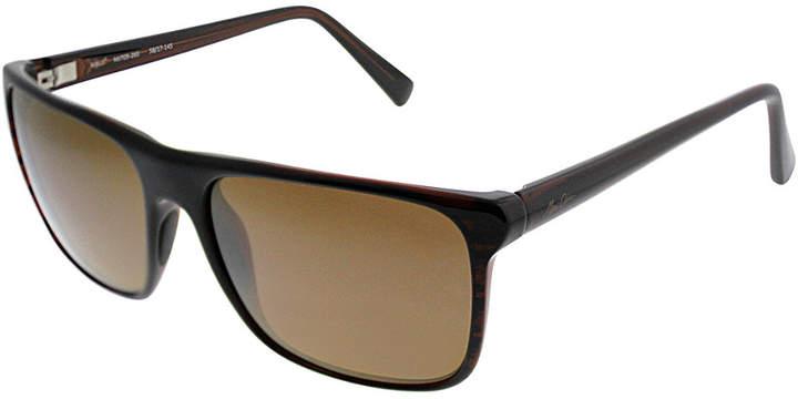 Maui Jim Unisex Flat Island 58Mm Polarized Sunglasses