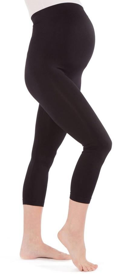 Thumbnail for your product : Modern Eternity 2-Pack Seamless Maternity Capri Leggings