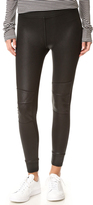 David Lerner Quilted Cuffed Leggings
